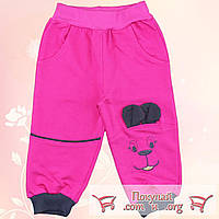Спортивные штаны на манжете для малышей Размеры: 86-92-98-104 см (5556-1)