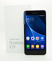 "Смартфон Samsung C9 (2SIM) 5,5"" 453МБ/4ГБ 3,1/9,7Мп 3G black черный Гарантия!"