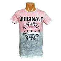 Мужская яркая футболка Originals - №2408, Цвет разноцветный, Размер M