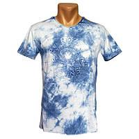 Красивая мужская футболка By Rozan Jeans - №2412, Цвет разноцветный, Размер M