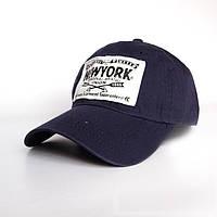 Стильная кепка New York- №2417, Цвет синий