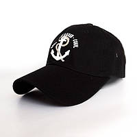 Мужская черно-белая кепка New Haven- №2419, Цвет черный