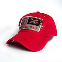 Кепка милитари Vintage Original - №2446, Цвет красный