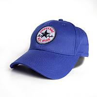 Модная мужская бейсболкаConverse All Star - №2439, Цвет синий