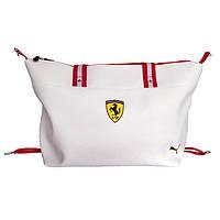 Стильная мужская сумка - №2460, Цвет белый