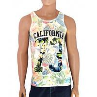 Летняя майка California - №2480, Цвет разноцветный, Размер S