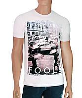 Мужские молодежные футболки Joan Silber - №2506, Цвет белый, Размер M