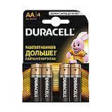"Батарейки ""Duracell"" пальчик 4шт R6/20"