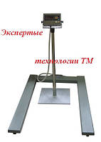 Паллетные электронные весы ЗЕВС ВПЕ500-4(H1208) А12Е, до 500 кг