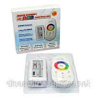 Контроллер Светодиодный RGB 18А-2.4G-Touch 216 вт 2.4G - пульт д/у DC 12 в, фото 3