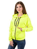 Мастерка трикотажная женская Irvik MG03 лимонная, фото 1