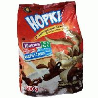 Злаковые шоколадные шарики Hopki 10 витаминов, 500гр