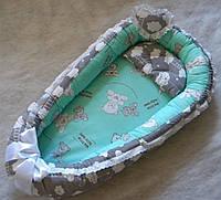 Гнездышко кокон позиционер для новорожденного