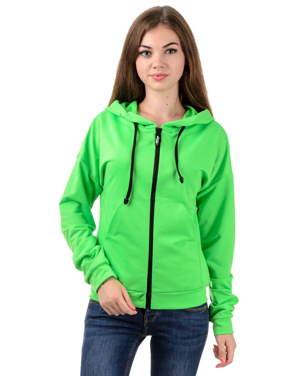 Мастерка трикотажная женская Irvik MG07 зеленая