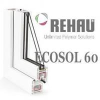 Окна Rehau Ecosol 60