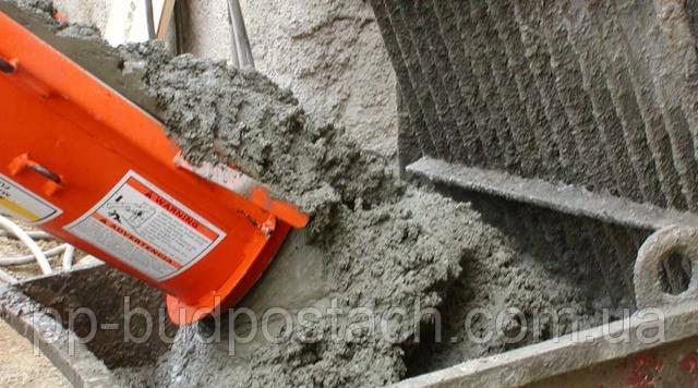 разжиженный бетон