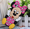Силиконовый чехол Микки Маус на Iphone 4/4S Pink