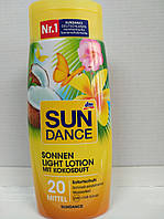 SunDance Sonnen Light Lotion mit Kokosduft LSF 20 Лосьон для загара с ароматом Кокоса 200ml
