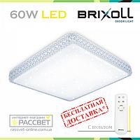 Светодиодный светильник BRIXOLL BRX-60W-004 потолочный с ПДУ (Smart Light Shiny) 4500Lm