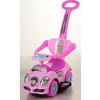 Детская каталка-толокар Bambi Розовый (HZ 558 W-8) музыкальная