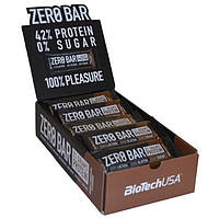 BioTech Zero Bar 50 грамм, 20 шт/уп