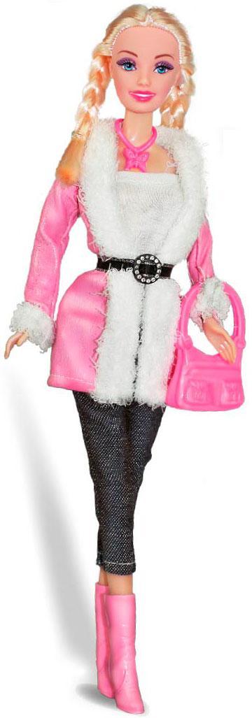 Кукла Ася 'Городской стиль '; 28 см; блондинка; вариант 4