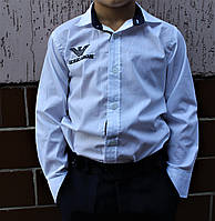 Рубашки для мальчика 6-9 лет