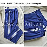 Брюки мужские спортивные. Трикотажные мужские спортивные брюки.Мод. 4024., фото 2