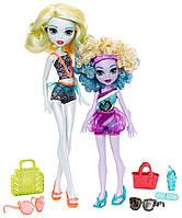 Лагуна Блю и её сестра Келпи Блю набор серия семья Монстров Хай, Monster Family Lagoona Blue and Kelpie Blue