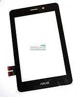 Сенсор (тач скрин) Asus FonePad ME371, ME175 MG black (оригинал) #18100-07050800