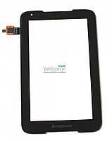 Сенсор (тач скрин) Lenovo IdeaPad A1000 black (c2c1c4r1c5 v4.0) (оригинал)