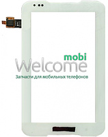 Сенсор (тач скрин) Lenovo IdeaPad A1000 white (c2c1c4r1c5 v4.0) (оригинал)