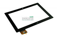 Сенсор (тач скрин) Lenovo IdeaPad S6000 black (MCF-101-0887-V2) (оригинал)