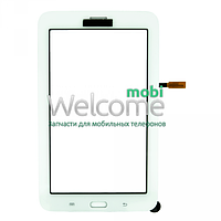 Сенсор (тач скрин) Samsung T111 Galaxy Tab 3 Lite 3G white (оригинал)