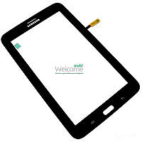 Сенсор (тач скрин) Samsung T111 Galaxy Tab 3 Lite 3G black (оригинал)