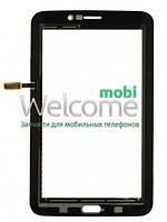 Сенсор (тач скрин) Samsung T113 Galaxy Tab 3 Lite 3G black (оригинал)