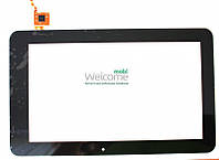 Сенсор (тач скрин) China-Tablet PC 10,1 GoClever Tab A103 Tablets, (black, capacitive, 6 pin, (250*155 mm) 10.1
