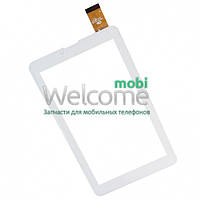 Сенсор (тач скрин) China-Tablet PC 6.8 Uni Pad DR-UDM04A13QC Mystery MID-713G Roverpad 6.8  (white, capacitive, 30 pin, (185*105 mm), 6.8