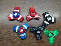 Металличекий спиннер Супергерои, фото 1