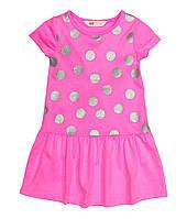 Платье летнее с коротким рукавом для девочки 98/104 H&M