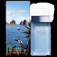 Light Blue Love in Capri Dolce&Gabbana