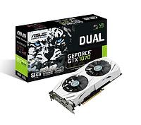 Видеокарта ASUS GeForce GTX 1070 DUAL 8GB GDDR5 VR Ready