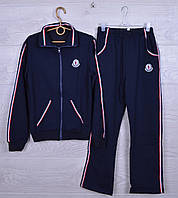 """Спортивный костюм подростковый """"FASHION"""" для мальчиков.116-140cv. Зеленый. Оптом"""