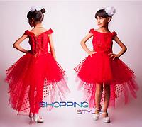 Платье нарядное пышное для девочки (6-7 лет)