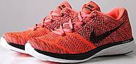 Купить мужские кроссовки Nike Flyknit Lunar 3 All Orange в магазине tehnolyuks.prom.ua 096-6964130