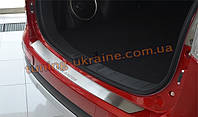 Накладка на задний бампер NataNiko на Mitsubishi Outlander 2012-2014