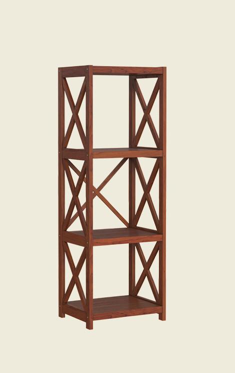 Четырехъярусная деревянная этажерка Е-4, производитель фабрика Скиф