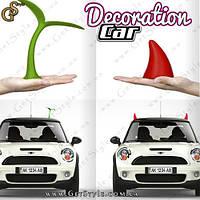 """Ріжки для машини - """"Car Decoration"""", фото 1"""