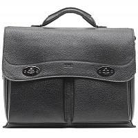 Портфель Bond S-1223 кожа черная