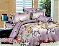 Евро макси набор постельного белья из Ранфорса №18510 KRISPOL™